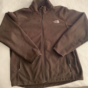 North Face Brown Fleece Jacket - L SOLD